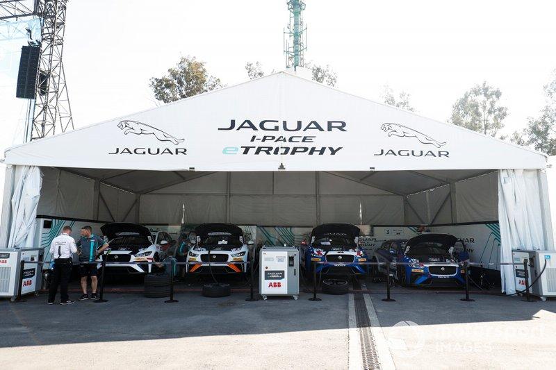 Los autos Jaguar iPace