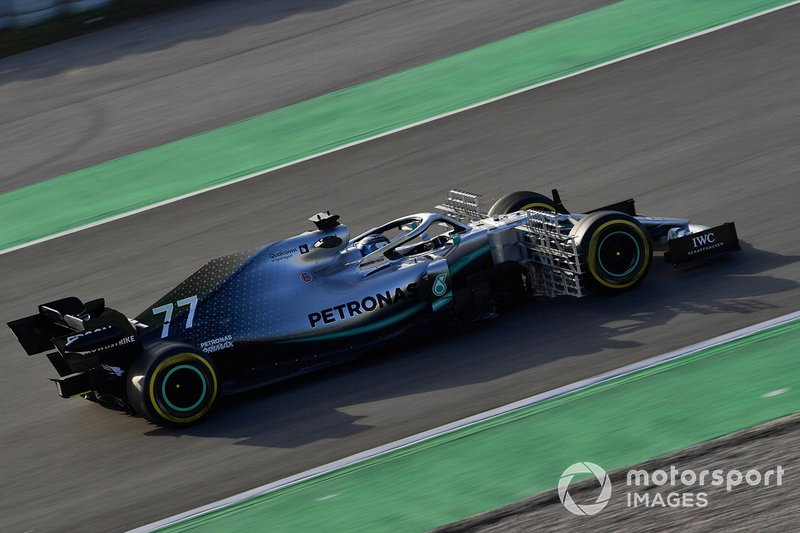 Mercedes-AMG F1 W10 EQ Power+ con sensores
