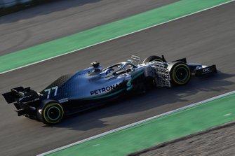 Valtteri Bottas, Mercedes-AMG F1 W10 EQ Power+ with aero sensor