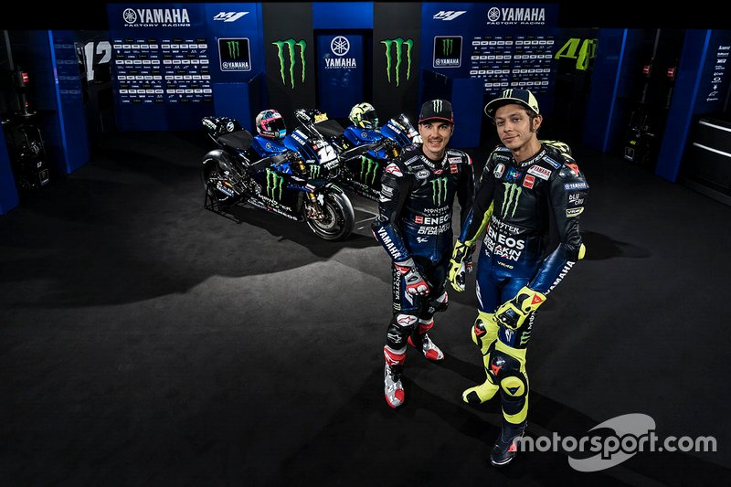 Маверик Виньялес и Валентино Росси, Monster Energy Yamaha MotoGP