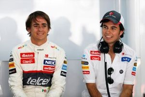 Esteban Gutierrez and Sergio Perez