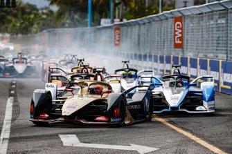 Jean-Eric Vergne, DS TECHEETAH, DS E-Tense FE19, Daniel Abt, Audi Sport ABT Schaeffler, Audi e-tron FE05, Antonio Felix da Costa, BMW I Andretti Motorsports, BMW iFE.18