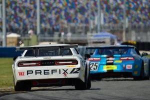 #12 TA2 Dodge Challenger driven by Marc Miller of Stevens Miller Racing