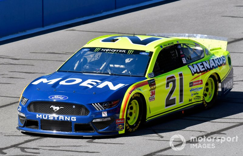 25. Paul Menard, Wood Brothers Racing, Ford Mustang Menards / MOEN