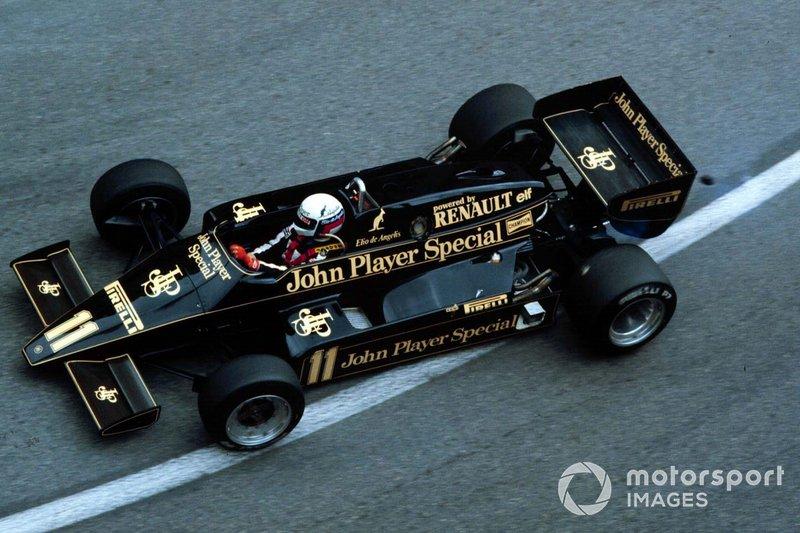 65: Elio de Angelis, Lotus 93T