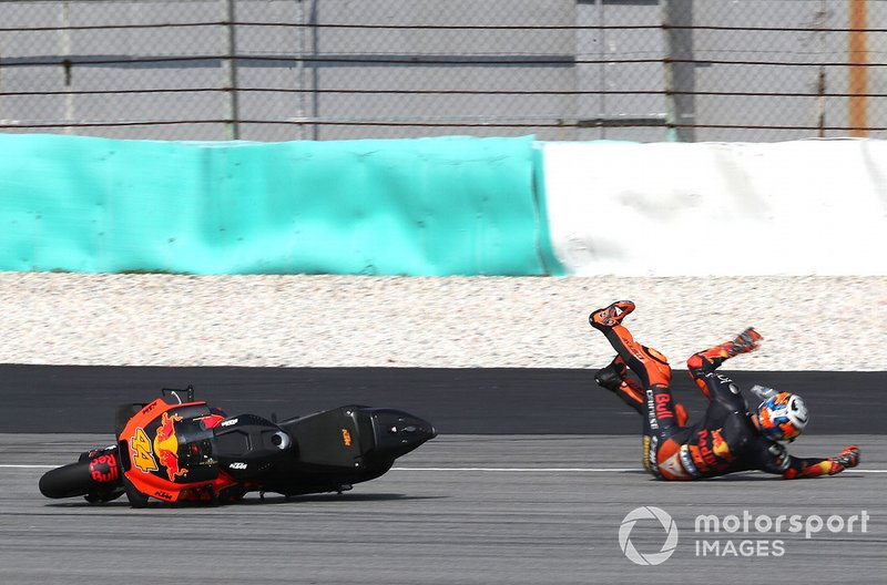 Accidente de Pol Espargaro, Red Bull KTM Factory Racing