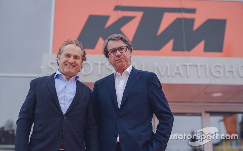 Hubert Trunkenpolz und Stefan Pierer