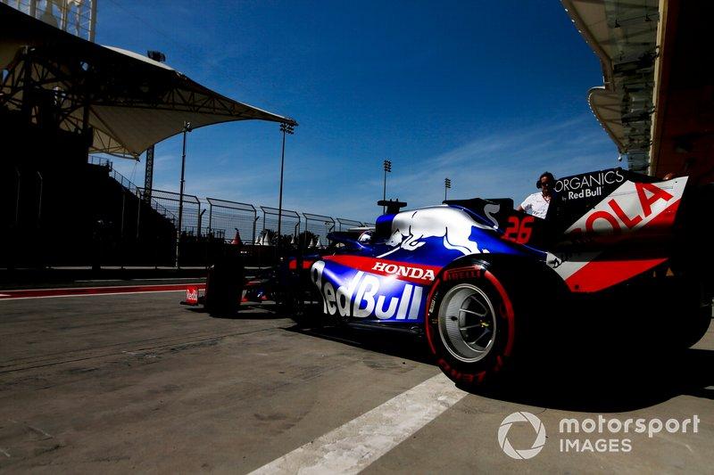 Данііл Квят, Toro Rosso STR14