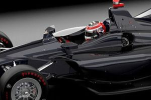 Rendering modifica dell'abitacolo IndyCar