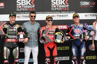 Jonathan Rea, Kawasaki Racing, Kenan Sofuoglu, Kawasaki Puccetti Racing, Alvaro Bautista, Aruba.it Racing-Ducati Team, Alex Lowes, Pata Yamaha
