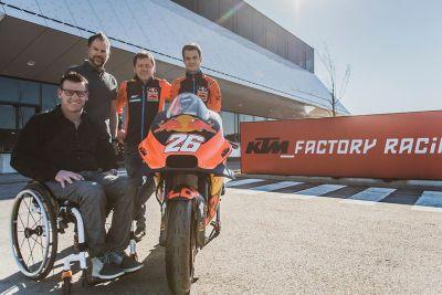 Präsentation: Dani Pedrosa & KTM