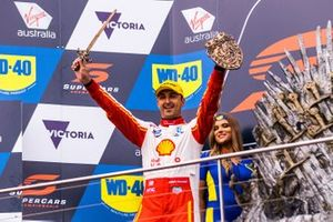 Podium: second place Fabian Coulthard, DJR Team Penske Ford