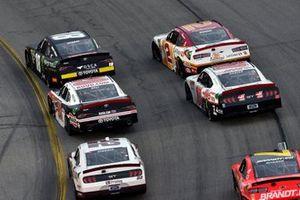 Riley Herbst, Joe Gibbs Racing, Toyota Supra Monster Energy and Christopher Bell, Joe Gibbs Racing, Toyota Supra Ruud