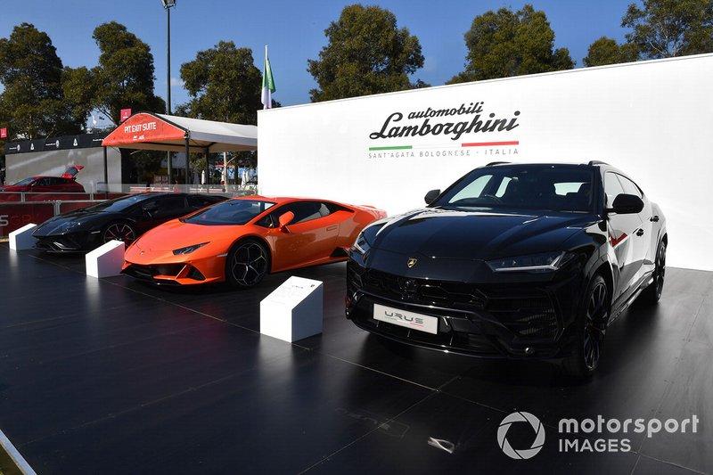 Lamborghini en Albert Park