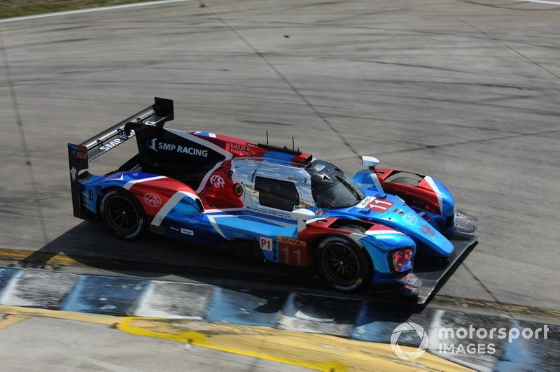 SMP Racing BR Engineering BR1 LMP1 in FIA WEC