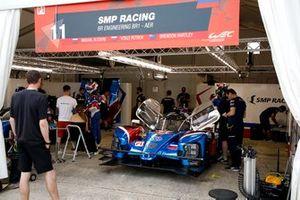 #11 SMP Racing BR Engineering BR1: Mikhail Aleshin, Vitaly Petrov, Brandon Hartley