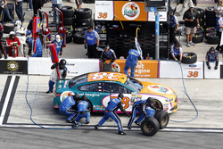 Pit stop Landon Cassill, Front Row Motorsports Ford