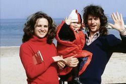 Маленький Валентино Росси с родителями