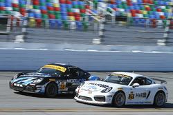 #38 Next Level European Porsche Cayman: Dan Rogers, Seth Thomas, #21 Muehlner Motorsports America Po