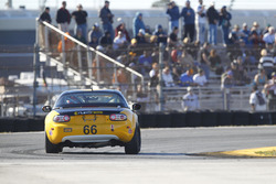 #66 Riley Racing Mazda MX-5: AJ Riley, Jameson Riley