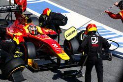 Norman Nato, Racing Engineering, s'arrête aux stands