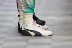 Rennschuhe von Lewis Hamilton, Mercedes AMG F1