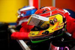 Casco de Lance Stroll, Prema Powerteam, Dallara F312 - Mercedes-Benz