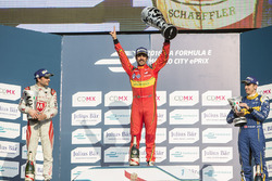 Podium: winner Lucas di Grassi, ABT Schaeffler Audi Sport, second place Jérôme d'Ambrosio, Dragon Ra