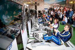 pilotos en el Juego simulador