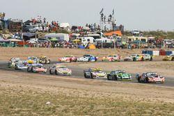 Facundo Ardusso, JP Racing Dodge, Mauro Giallombardo, Stopcar Maquin Parts Racing Ford, Mauricio Lam