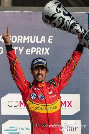 Podium: winner Lucas di Grassi, ABT Schaeffler Audi Sport