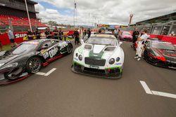 #10 Bentley Team M Sport Bentley Continental GT3: Steven Kane, Guy Smith, Matt Bell
