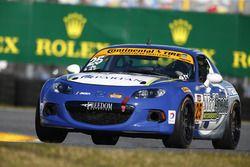 #25 Freedom Autosport Mazda MX-5: Britt Casey Jr., Danny Bender