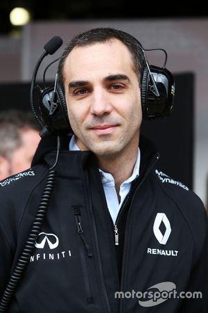 Cyril Abiteboul, Directeur Général Renault Sport Racing