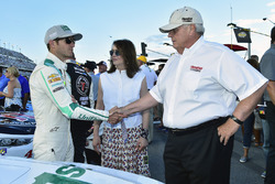 Kasey Kahne, Hendrick Motorsports Chevrolet, Rick Hendrick