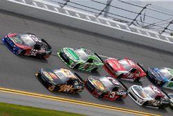 Brendan Gaughan, Richard Childress Racing Chevrolet Jeb Burton, JGL Racing Toyota
