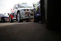 Former Carlos Sainz Ford Escort WRC