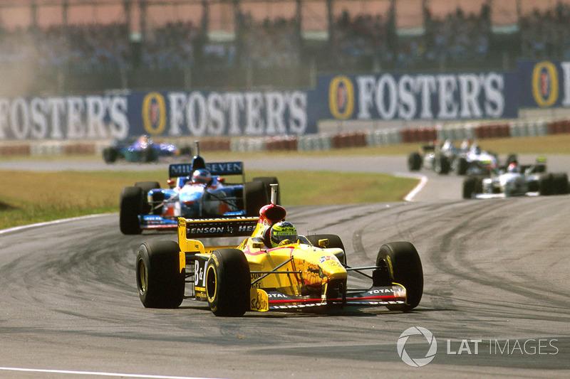 #8: Ralf Schumacher, GP da Argentina de 1997 (21 anos e 287 dias)