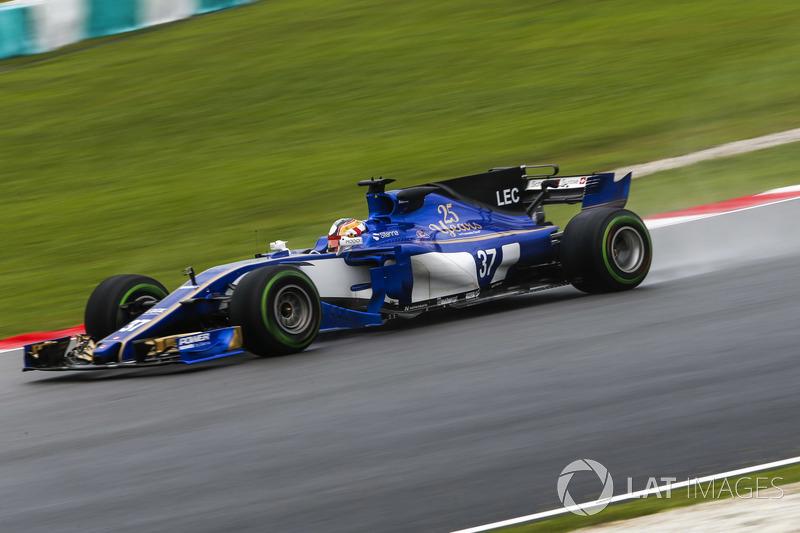 Шарль Леклер, Sauber C36