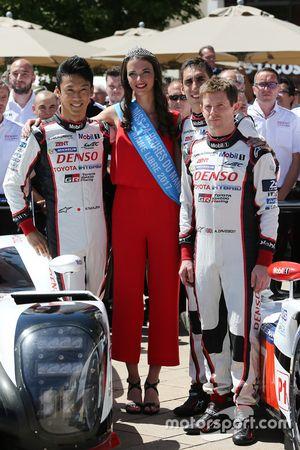 Kazuki Nakajima, Miss 24 Hours of Le Mans, Anthony Davidson, Toyota Gazoo Racing