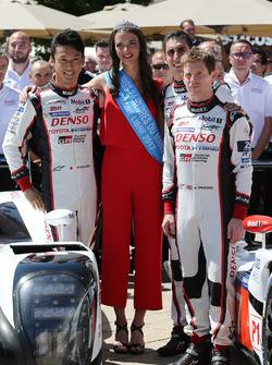 Казукі Накадзіма, міс 24 години Ле-Мана, Ентоні Девідсон, Toyota Gazoo Racing