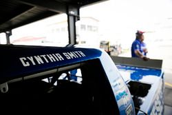 Austin Cindric, Brad Keselowski Racing Ford, Cynthia Smith