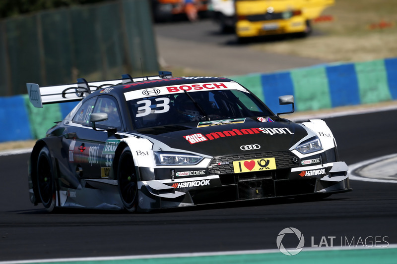Рене Раст, Audi Sport Team Rosberg Audi RS5 DTM