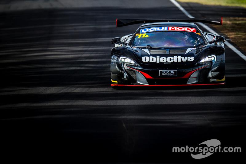 20. #11 Objective Racing, McLaren 650s GT3