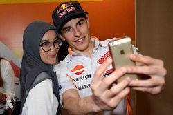 Marc Marquez, Repsol Honda Team with fan