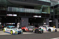 №60 BMW Team SRM BMW M6 GT3: Стив Ричардс, Марк Винтерботтом, Марко Виттман; №7 BMW Team SRM, BMW M6 GT3: Тони Лонгерст, Марк Скафйе, Расселл Инголл, Тимо Глок; №99 Walkenhorst Motorsport, BMW M6 GT3: Йорг Мюллер, Нико Менцель, Рики Коллард