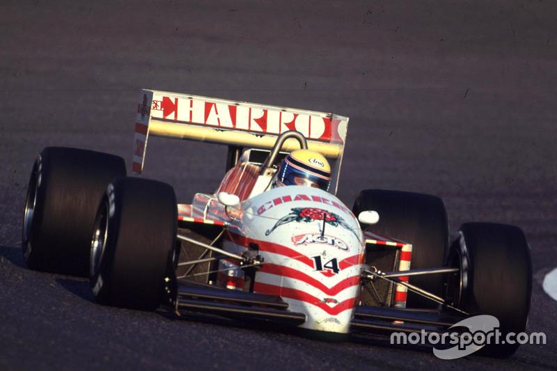 #14: Roberto Moreno, AGS JH22, Cosworth