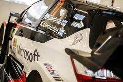 Auto von Juho Hänninen, Kaj Lindström, Toyota Yaris WRC, Toyota Racing