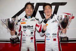 ART Grand Prix race winners, F2 Race two winner Nobuharu Matsushita, ART Grand Prix and GP3 Race one
