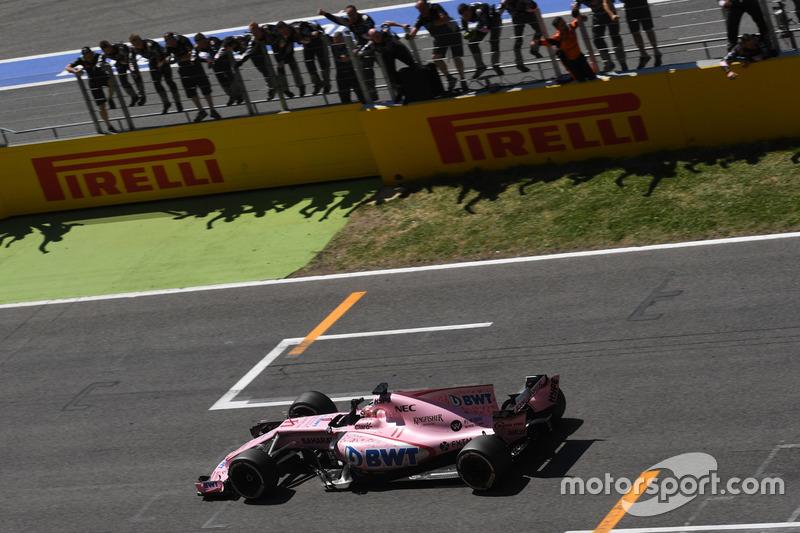 Cuarto lugar, GP de España 2017